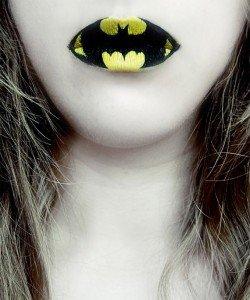 maquillage-bouche-batman